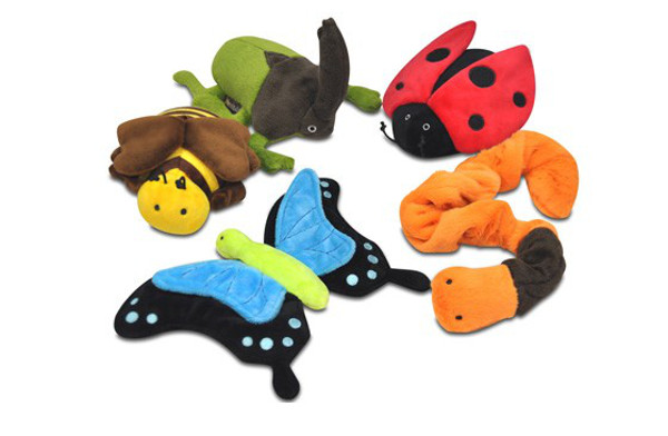 Bugging Out Plush Toy Collection from P.L.A.Y.