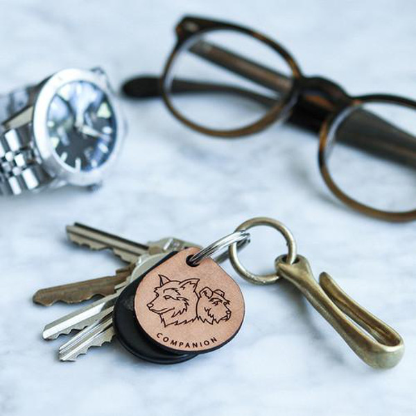 Leather Dog Breed Tags from Cody & Bella