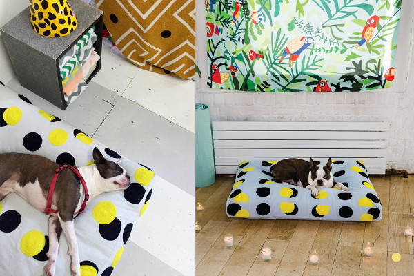Embroidered Dog Beds from Dusen Dusen