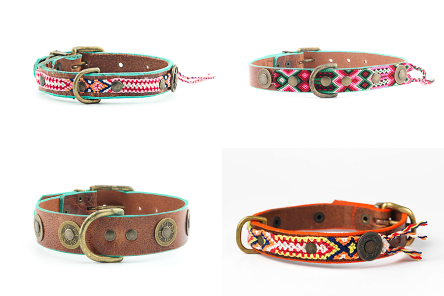 Handmade Boho-Style Collars and Leads from DWAM
