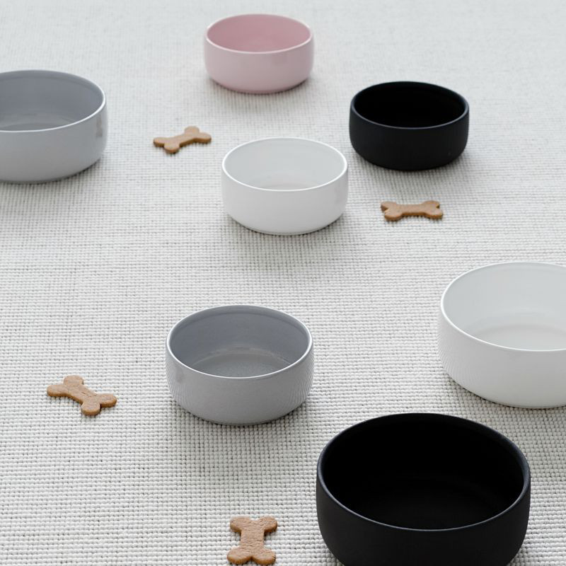 Modern Ceramic Dog Bowls from KIND