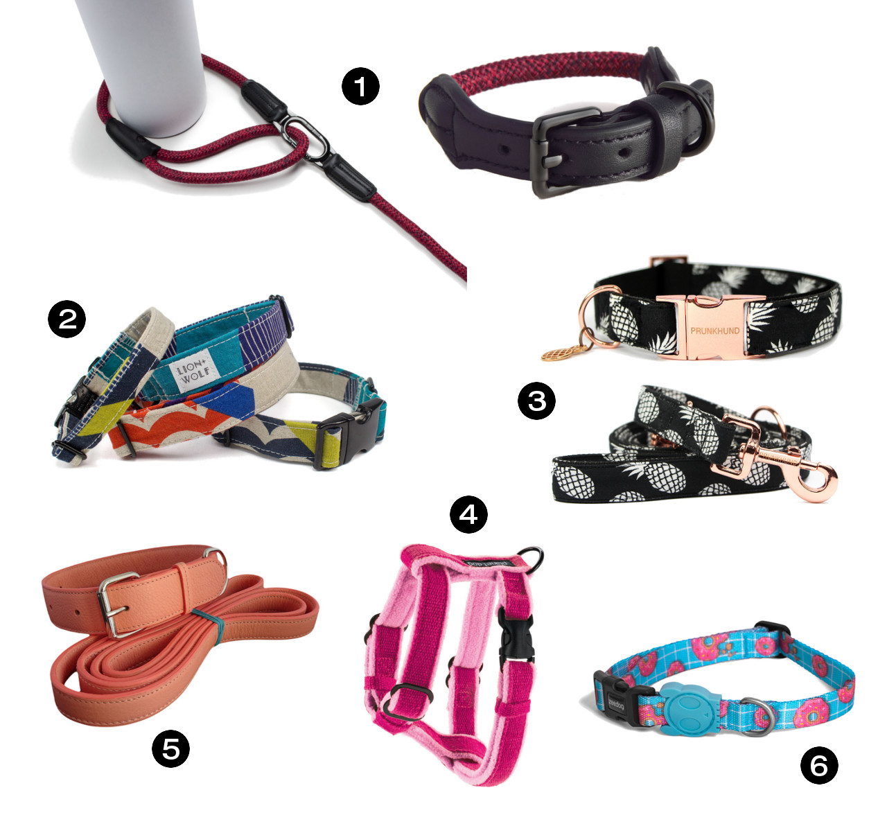 Dog Milk Holiday Gift Guide: 12 Awesome Collars, Leashes, & Harnesses