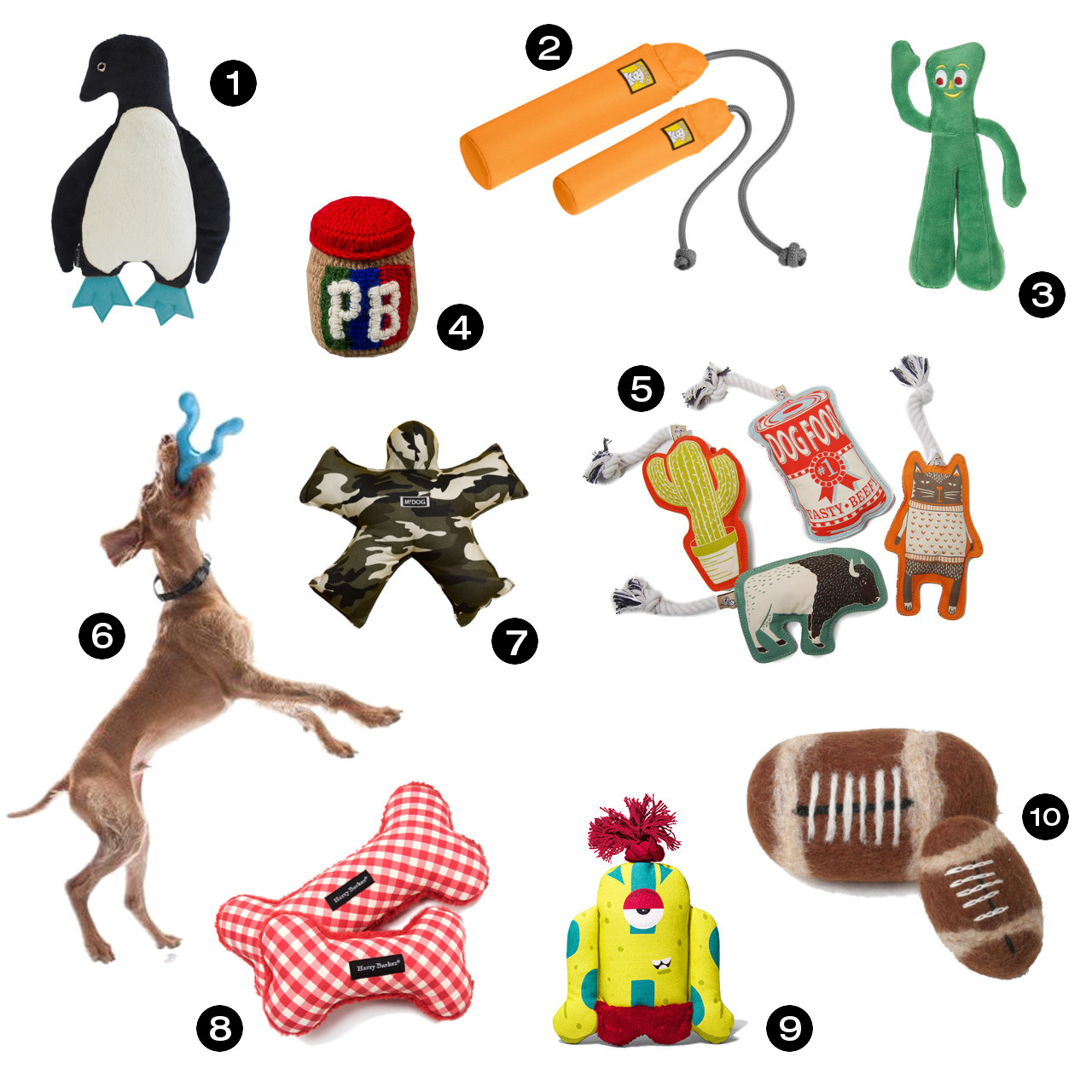Dog Milk Holiday Gift Guide: 30 Awesome Toys for Dogs