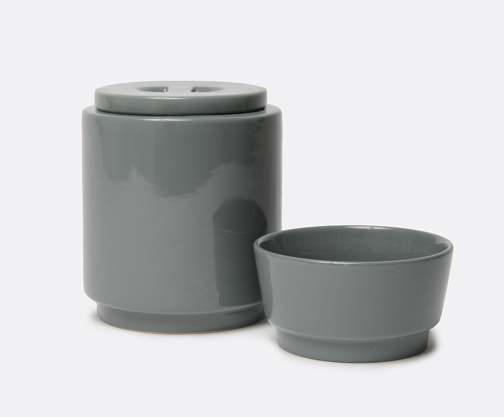 Colorful Ceramic Treat Jars and Bowls from Waggo