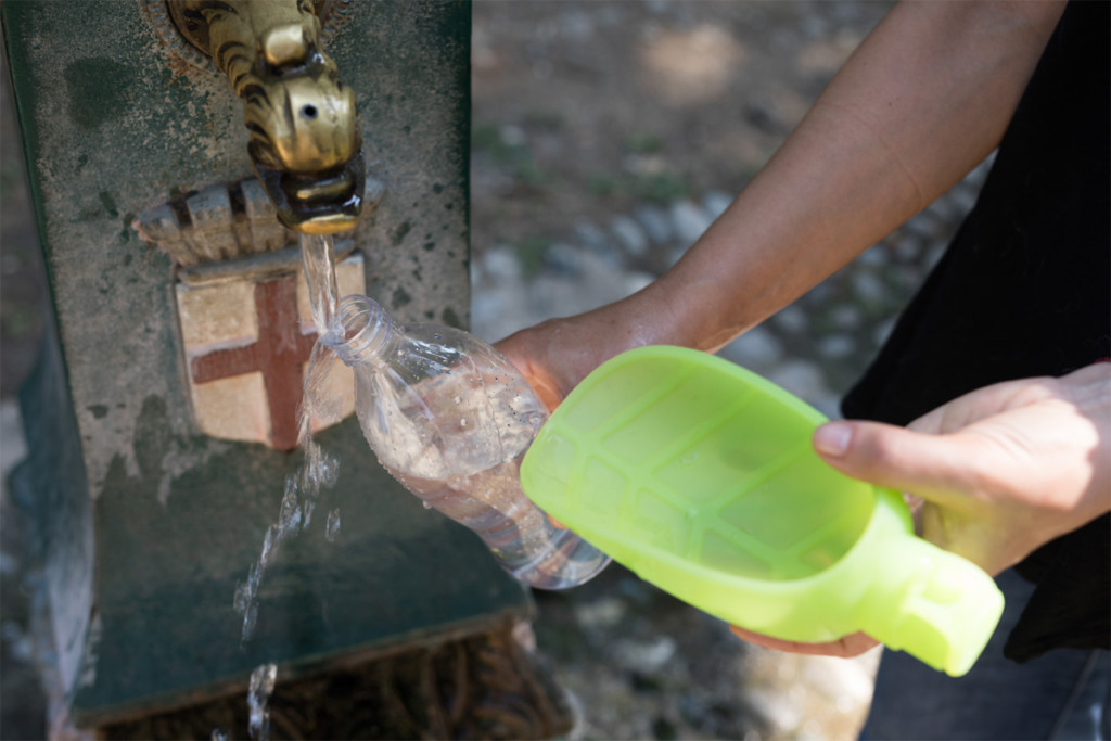 LEAF: Portable Water Dispenser from DesignLibero