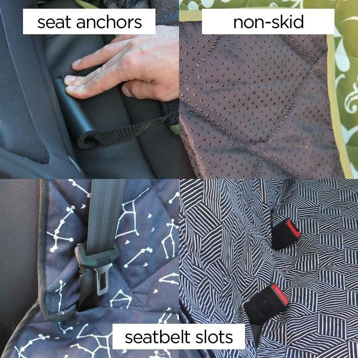 Stylish 3-in-1 Car Seat Covers from Molly Mutt