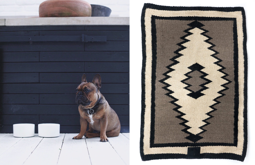 Modern Southwest-Inspired Dog Accessories from Person + Dog