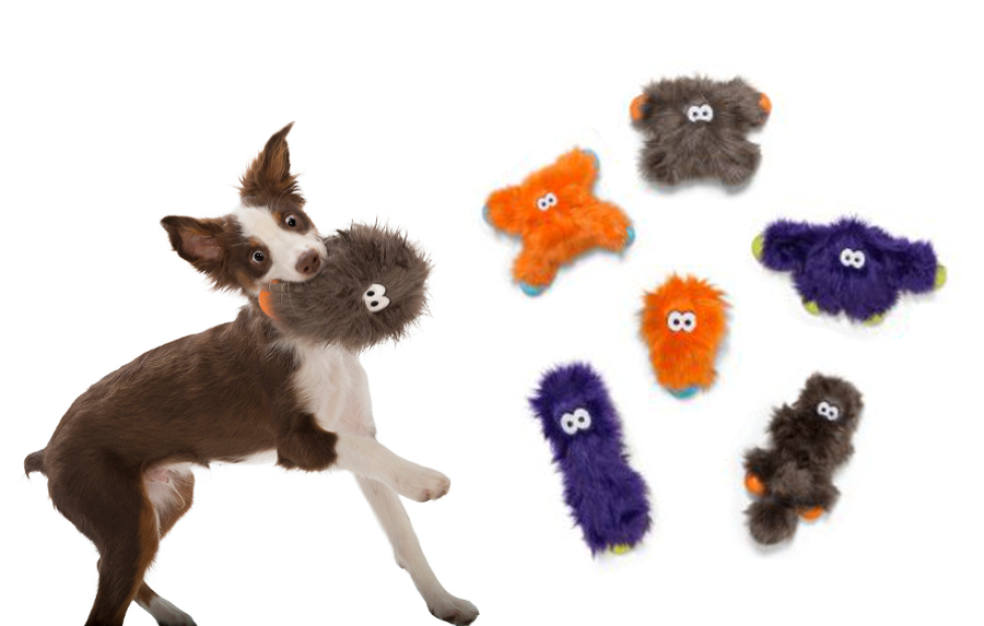 Rowdies Durable Plush Dog Toys from West Paw