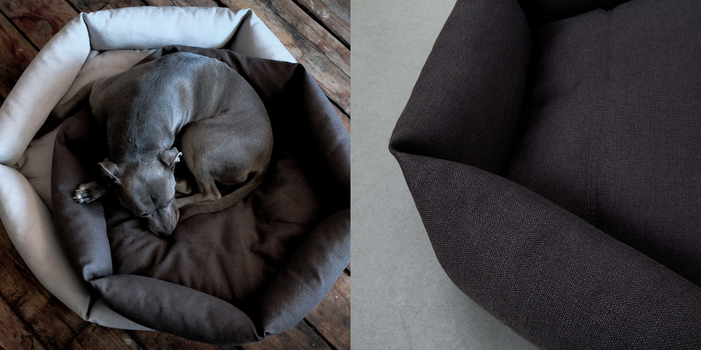 Hex Cushion Dog Bed from Velvet Hippo