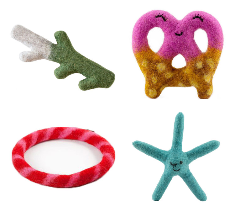 Natural Wool Dog Toys from East Coast Pets