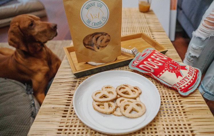 Winnie Lou: The Canine Co. Dog Food Truck and Shop