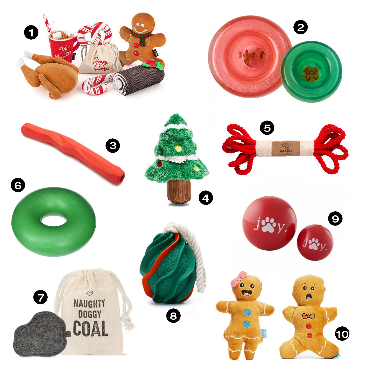 Dog Milk Holiday Gift Guide: Toys! Toys! Toys!