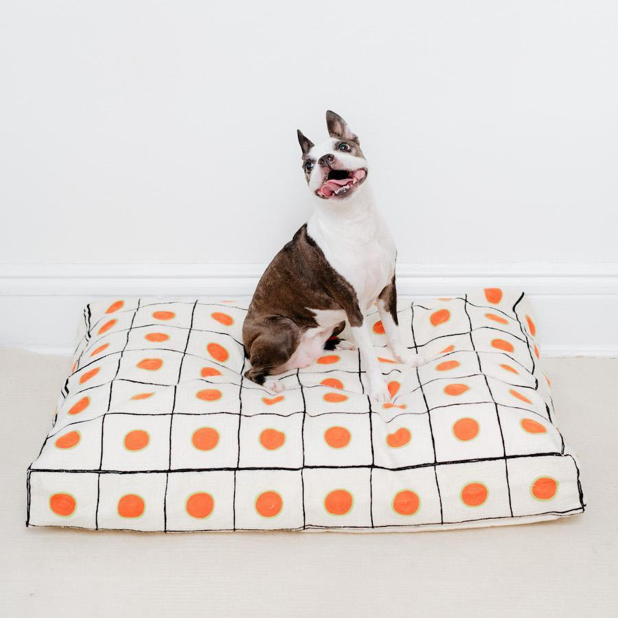 New Embroidered Dog Beds from Dusen Dusen