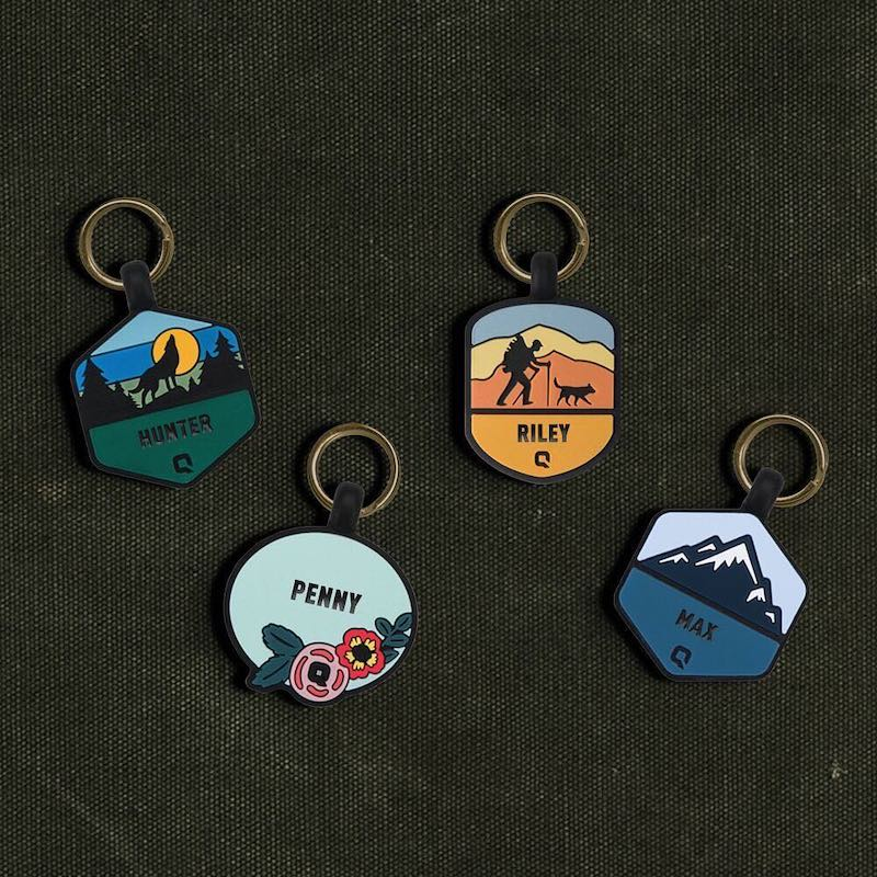 Silent Dog ID Tags from QALO