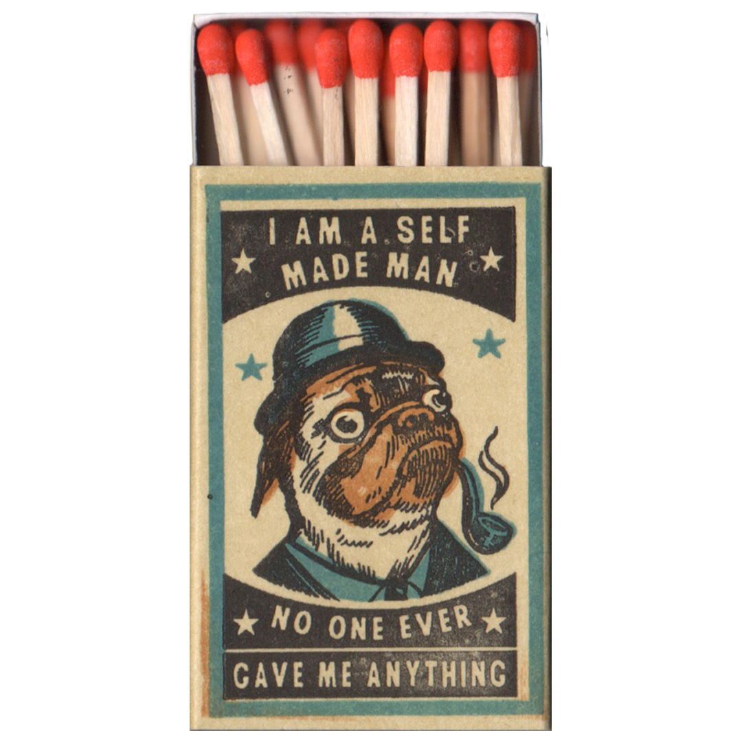 Strike Your Fancy: Dog Matchboxes and Prints by Ravi Zupa