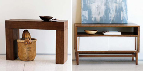 New West Elm. Hereu0027s Their Chunky Console Table.