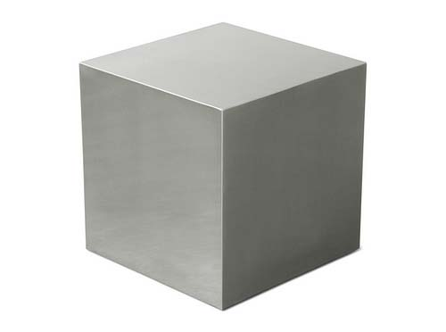 stainless-cube