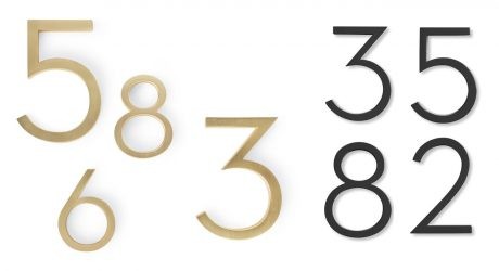[UPDATED] Modern House Numbers