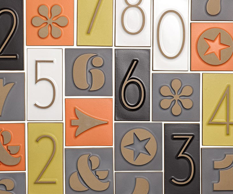 Old fashioned house numbers 72
