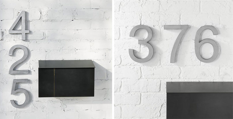 Updated Modern House Numbers