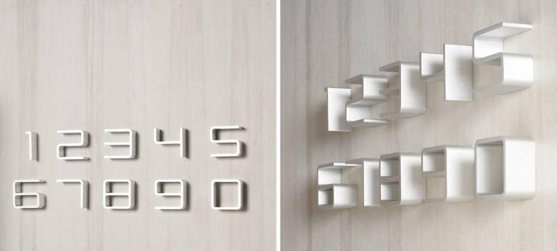 UPDATED Modern House Numbers Design Milk