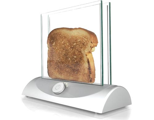 Transparent Toaster in technology  Category