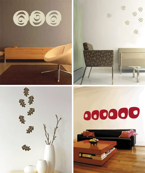 Temporary Wall Decals