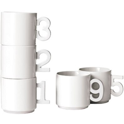 Number Mugs