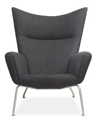 Hans Wegner Wing Chair And Jake Chair