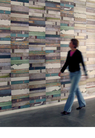 Scrap Wood Wallpaper in home furnishings  Category