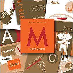 Modern Alphabet Flashcards