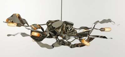 Oval Chandelier in home furnishings  Category