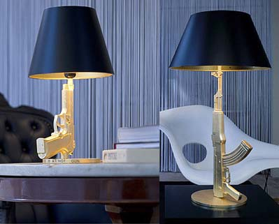 Gun Lamps in home furnishings  Category