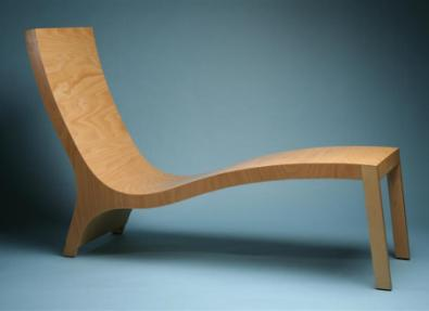 Plywood Chaise