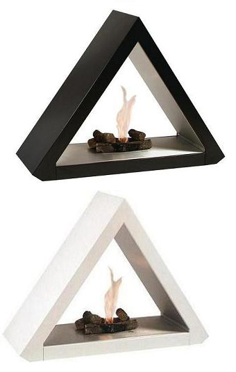 Pyramid Fireplace