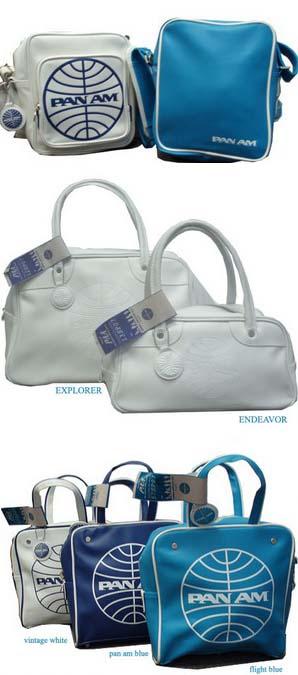 Pan Am Travel Bags