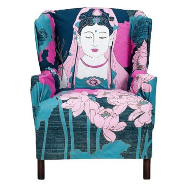 Buddha Lotus Tapestry in home furnishings  Category