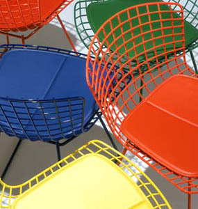 Bertoia Goes Vibrant! in home furnishings  Category