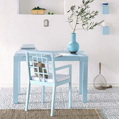 Blue Desks in main home furnishings  Category