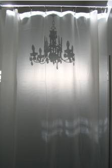 Chandeliers in the Shower