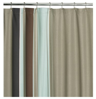 Simple Shower Curtain - Design Milk