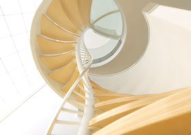 DNA Stairs in architecture  Category