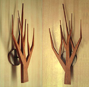 Tree Sconces - Design Milk