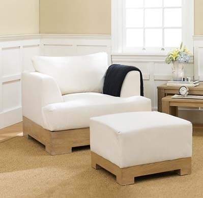 Hayes Chair & Ottoman