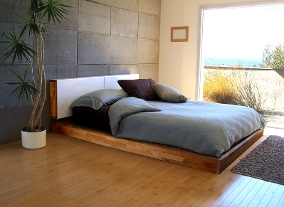 mash studios platform bed - design milk