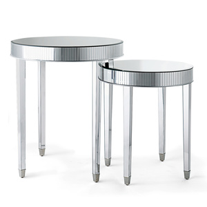 Mirrored Stacking Tables