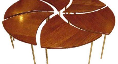 Six-part Vintage Coffee Table