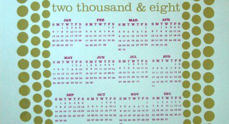 Silkscreen Calendars