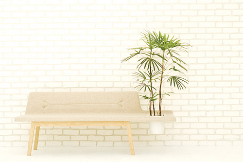 Lin Pod Bench in home furnishings  Category