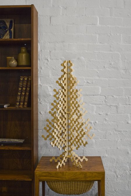 Plywood Christmas Tree in main home furnishings  Category